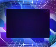 Window Technology Concept Background. Blue Window Technology Concept Background Royalty Free Stock Image
