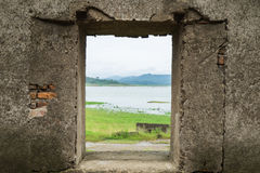 Window of the temple Royalty Free Stock Photo