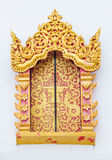 Window temple,  Mae Hong Son Province, Thailand Stock Images