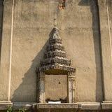 Window of temple. Wat Wangwiwekaram in Sangkhlaburi , Kanchanaburi, Thailand royalty free stock photos