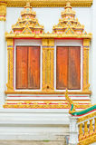 Window Thai temple Stock Photography