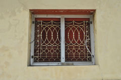 Window  in thai temple Stock Photos