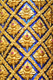 Window Thai temple Royalty Free Stock Images