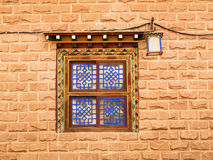 Window Tibetan Royalty Free Stock Photo