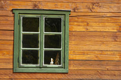 Window timbered house architecture detail Royalty Free Stock Photo