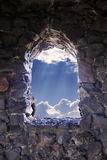 Window to Hope Stock Photography