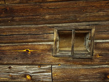 Window to Nowhere. A window in a wooden wall to nowhere stock images