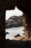 Window to the ocean Stock Image