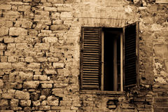 Window to Perugia Stock Image