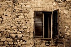 Window to Perugia Stock Image
