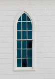 Window to the Soul. A local historic Church window Royalty Free Stock Photos