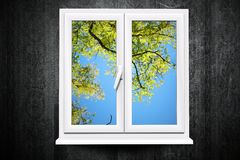 Window to Summer Royalty Free Stock Photos