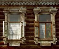 Window of Tomsk Royalty Free Stock Image