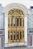 Window in Topkapi Palace Stock Images