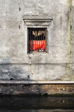 Window of a traditional canal-side house, Suzhou Stock Images