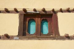 Window of a traditional Ethiopian house, Adwa, Ethiopia Stock Photo