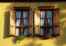 Window of a traditional house Stock Image