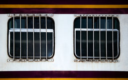 Window of train Royalty Free Stock Photography