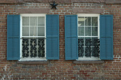 Window treatment Royalty Free Stock Images