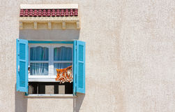 Window. Tunis Royalty Free Stock Image