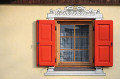 Window on Tyrol Stock Image
