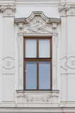 Window from Upper Belvedere Palace in Vienna Stock Image