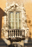 Window in Valencia, Spain Stock Images