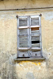 Window  varese palaces italy lonate ceppino Royalty Free Stock Photography