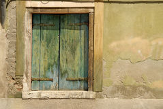 Window in Venice Royalty Free Stock Images