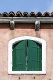 Window, Venice, Italy Royalty Free Stock Photos
