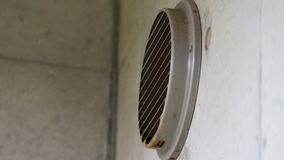 Window Ventilation in a Tall Modern Building in Yamaguchi. Prefecture Stock Photos