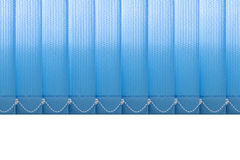 Window vertical fabric blinds. Royalty Free Stock Photos