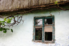 Window of very old house Stock Photography