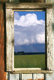 Window with a view Royalty Free Stock Photos