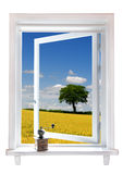 Window with a view Royalty Free Stock Images