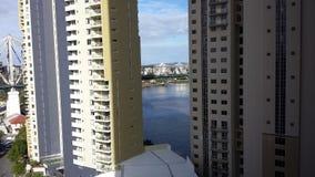 Window view. Brisbane, story bridge Royalty Free Stock Image