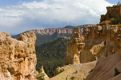 Window view at Bryce Canyon Stock Photo