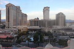 Window view vegas royalty free stock images