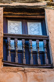 Window in the village of Albarracin, Spain Stock Photography
