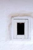 Window in vintage wall Royalty Free Stock Photo