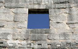 Window in a wall Royalty Free Stock Images