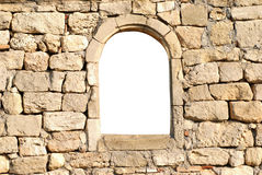 Window in the wall Royalty Free Stock Image