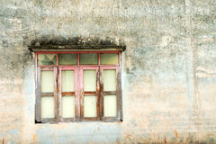 Window on wall Royalty Free Stock Images