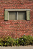 The window on the wall Royalty Free Stock Photo