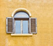 Window on the wall Royalty Free Stock Image