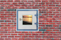 A Window in the Wall Royalty Free Stock Photo