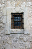 Window in a Wall at The Alamo Stock Photo