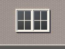 Window on wall Stock Photos
