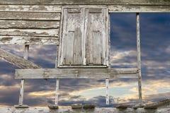 Window wall cloud sky Stock Image