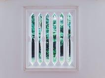 Window. Wall decor stock photo